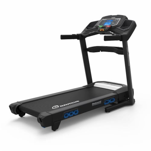 Nautilus T618 Performance Tracking Home Workout Training Treadmill Machine Perspective: front