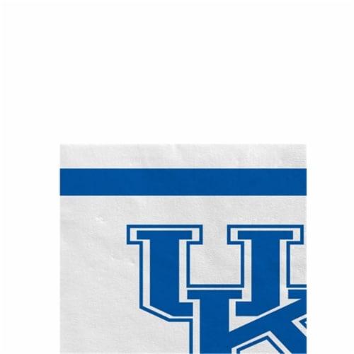 Anagram 82020 24 Count University of Kentucky Beverage Napkin Perspective: front
