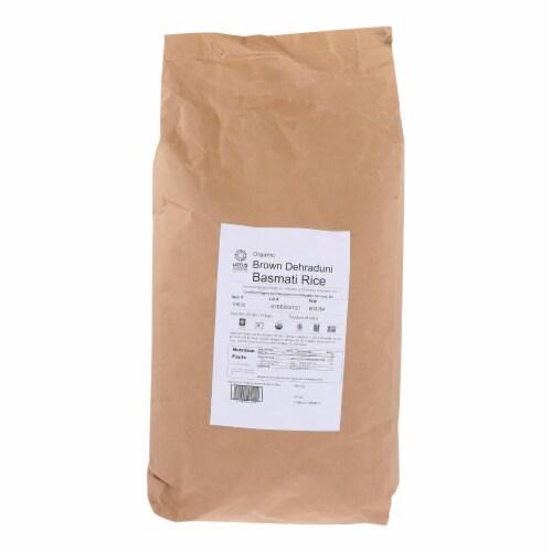 Lotus Foods Rice Organic Brown Basmati - Single Bulk Item - 25LB Perspective: front