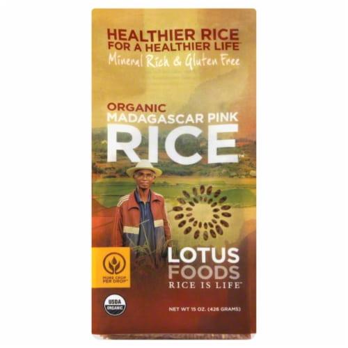 Lotus Foods Organic Madagascar Pink Rice Perspective: front
