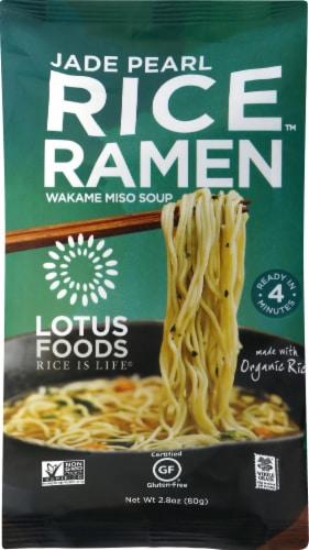 Lotus Foods Jade Pearl Rice Ramen Perspective: front