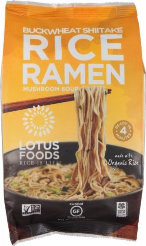 Lotus Foods Buckwheat Mushroom Rice Ramen Perspective: front