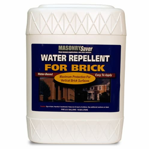 MasonrySaver Water Repellent for Brick 5gal Perspective: front