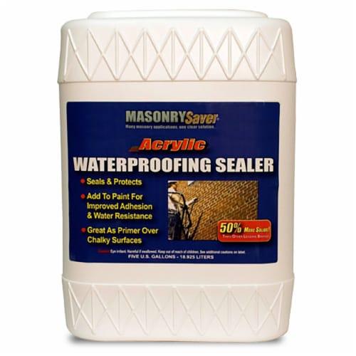 MasonrySaver Acrylic Waterproofing Sealer 5gal Perspective: front