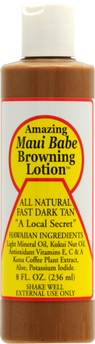 Maui Babe Browning Lotion Perspective: front