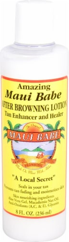 Maui Babe Amazing After Browning Lotion Perspective: front