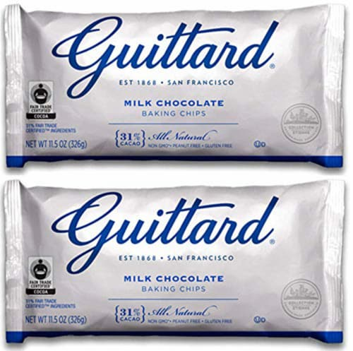 Guittard Choc Chip Mlk Choc Maxi - 11.5 Ounce (Pack of 2) Perspective: front