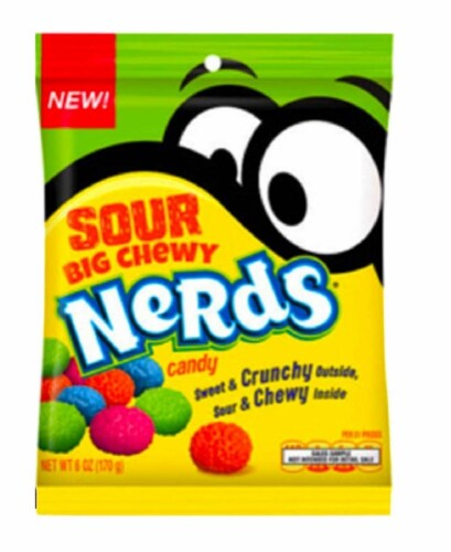 Sour Big Chewy Nerds Candy, 6 oz Perspective: front