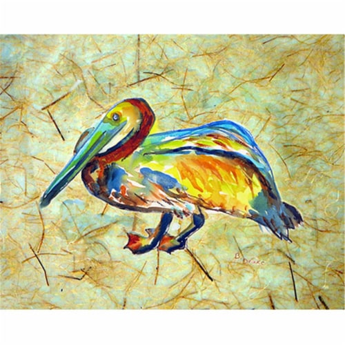 Betsy Drake PM984 Gertrude Pelican Place Mat - Set of 4 Perspective: front