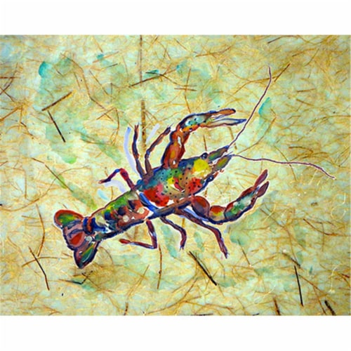 Betsy Drake PM986 Crayfish Place Mat - Set of 4 Perspective: front