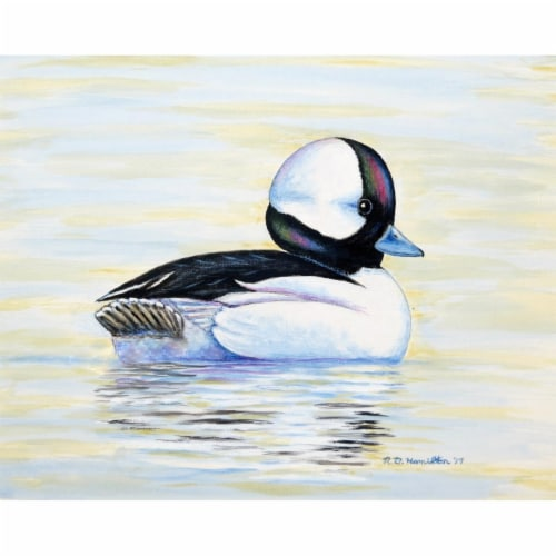 Betsy Drake PM827 Bufflehead Duck Place Mat - Set of 4 Perspective: front