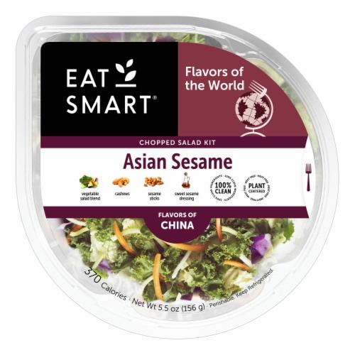 Eat Smart Shake Ups Asian Sesame Salad Bowl Perspective: front