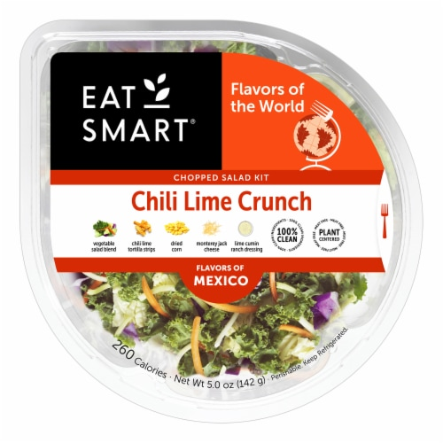 Eat Smart Chili Lime Crunch Salad Shake Up Perspective: front