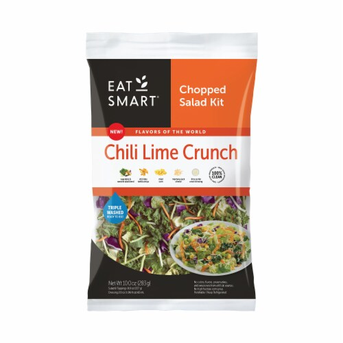 Eat Smart Chili Lime Crunch Chopped Salad Kit Perspective: front