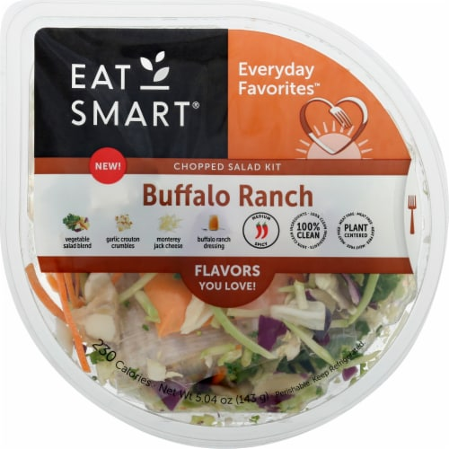 Eat Smart Everyday Favorites Buffalo Ranch Vegetable Salad Kit Perspective: front