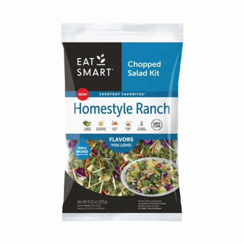 Eat Smart Homestyle Ranch Chopped Salad Kit Perspective: front