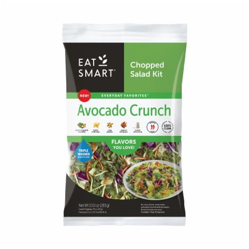 Eat Smart Avocado Crunch Chopped Salad Kit Perspective: front