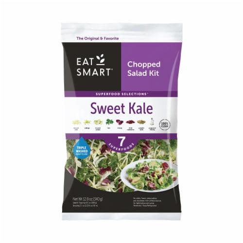 Eat Smart Sweet Kale Vegetable Salad Kit Perspective: front