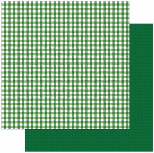 Tulla & Norbert's Lucky Charm Double-Sided Cardstock 12 X12 -Tartan Perspective: front