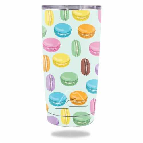 MightySkins OZTUM20-Macarons Skin for Ozark Trail 20 oz Tumbler 2016 - Macarons Perspective: front