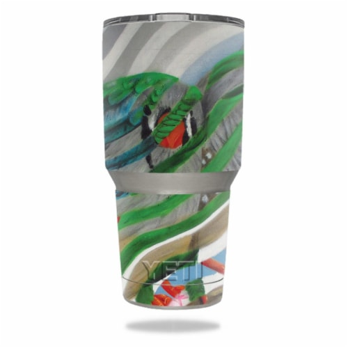 MightySkins YERAM30-Birds Unite Skin for Yeti 30 oz Tumbler - Birds Unite Perspective: front