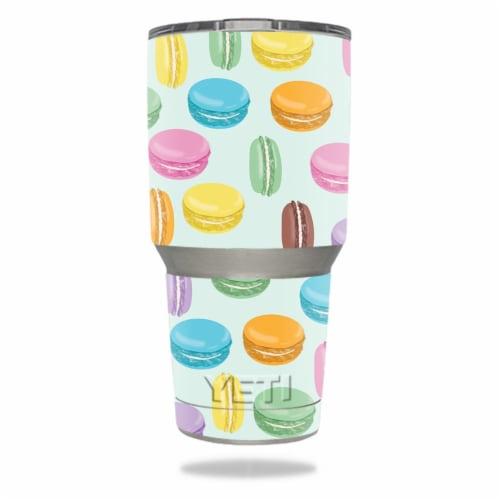 MightySkins YERAM30-Macarons Skin for Yeti 30 oz Tumbler - Macarons Perspective: front