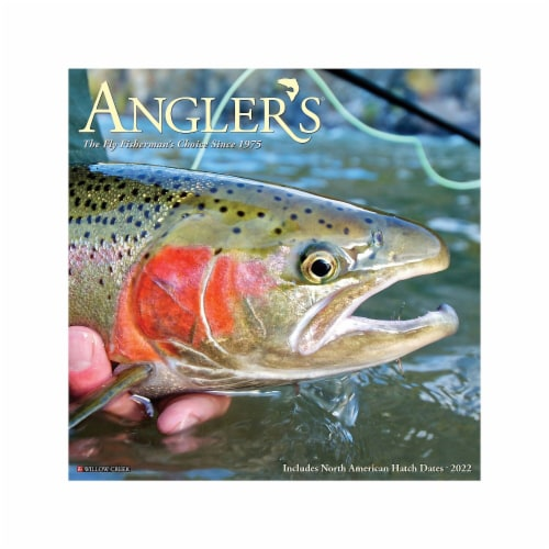 Angler's 2022 Wall Calendar Perspective: front