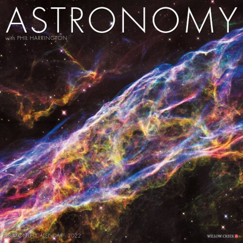 Astronomy 2022 Wall Calendar Perspective: front