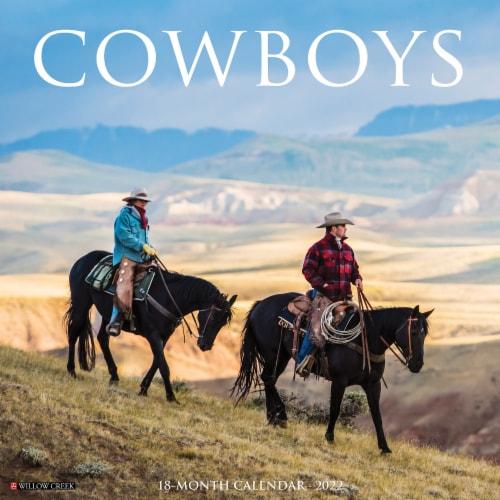 Cowboys 2022 Wall Calendar Perspective: front