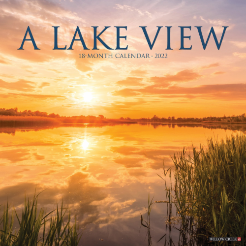 Lake View 2022 Wall Calendar Perspective: front