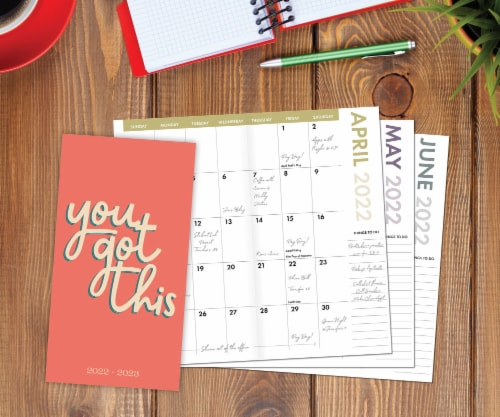You Got This 2022-23 2-year Pocket Planner Perspective: front