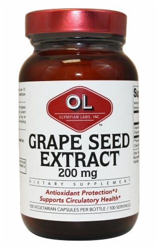 Olympian Labs  Grape Seed Extra Strength Perspective: front