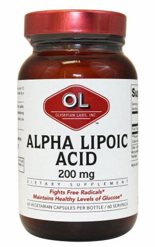 Olympian Labs  Alpha Lipoic Acid Perspective: front