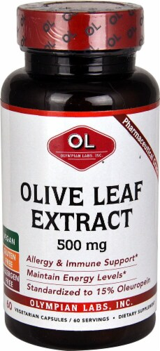 Olympian Labs  Olive Leaf Extract Perspective: front
