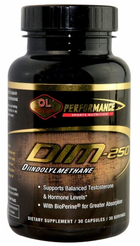 Olympian Labs  Performance DIM-250 Diindolylmethane Perspective: front