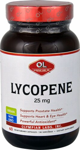 Olympian Labs Lycopene 250mg Perspective: front