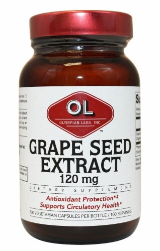 Olympian Labs  Grape Seed Extract Perspective: front