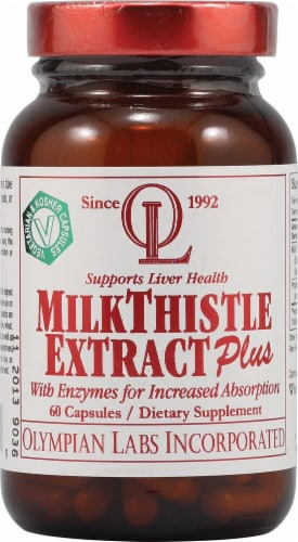 Olympian Labs  Milk Thistle Extract Plus Perspective: front