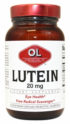 Olympian Labs  Lutein Perspective: front