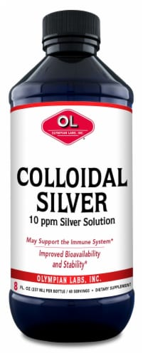 Olympian Labs Colloidal Silver Perspective: front