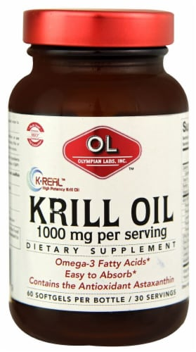 Olympian Labs  Krill Oil Perspective: front