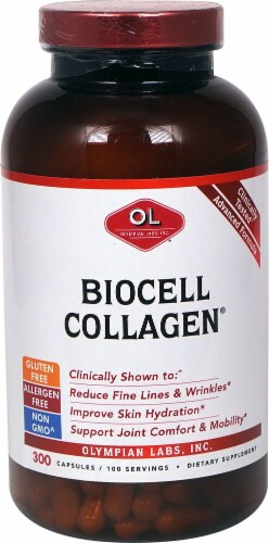 Olympian Labs  Biocell Collagen® Perspective: front