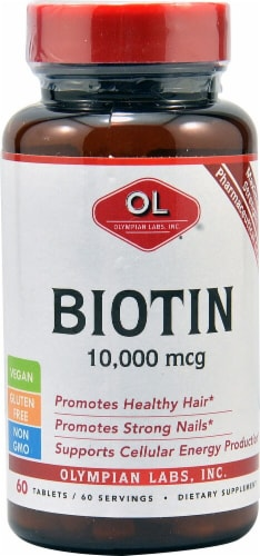Olympian Labs  Biotin Perspective: front