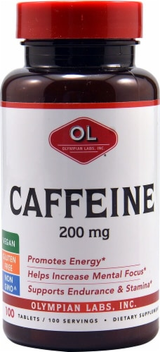 Olympian Labs  Caffeine Perspective: front