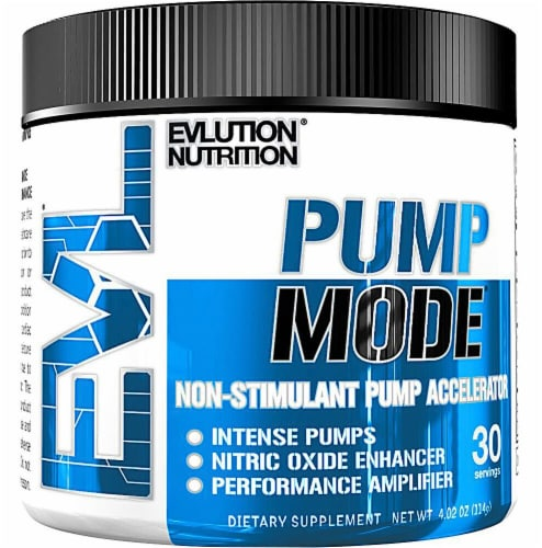 Evlution Nutrition  PumpMode®   Unflavored Perspective: front