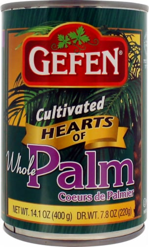 Gefen Whole Hearts Of Palm Perspective: front
