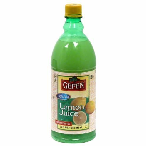 Gefen Lemon Juice Perspective: front