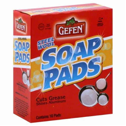 Gefen Soap Pads Perspective: front