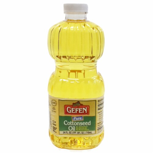 Gefen Cottonseed Oil Perspective: front