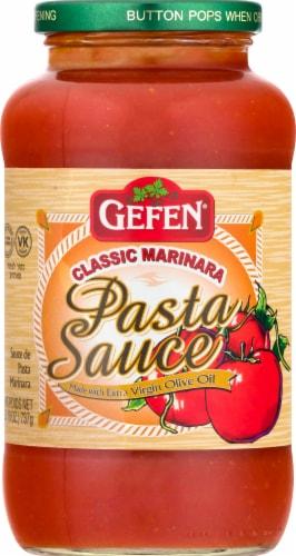 Gefen Classic Marinara Pasta Sauce Perspective: front